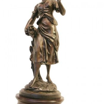 mujer con espiga (Medium)